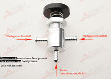 Universal In Car Boost Controller Valve In Black /Silver