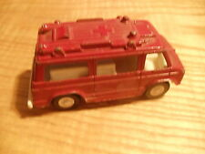 1970's Tootsie Toys die cast metal Rescue Van Truck Made in USA