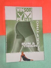 PRISTINE WINSOR PILATES Windsor BUN & THIGH Workout Be sure to see the Cover Pic
