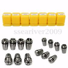 New 7Pcs ER11 Spring Collet Set For CNC Milling Lathe Tool Engraving Machine