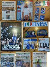 Riviste Giornali Quotidiani ITALIA CAMPIONE DEL MONDO 2006 Gazzetta maglia shirt
