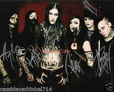 """Motionless In White heavy metal band Reprint Signed 11x14"""" Poster Photo #2 RP"""