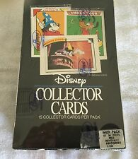 1991 IMPEL / DISNEY COLLECTOR TRADING CARDS 36 PACK - NEW - SEALED