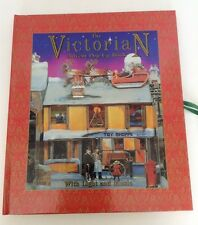 Vintage Victorian Advent Calendar Pop-Up Book Hardcover Christmas Holiday