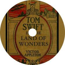 Tom Swift in the Land of Wonders, Victor Appleton SciFi Audiobook on 4 Audio CDs