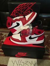 Nike Air Jordan 1 High OG Sz 7Y Chicago 100% Authentic Receipt Brand New 11 13