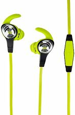 Monster iSport Intensity rrp £60  NEW In-Ear Only Headphones - Green