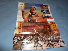 1988 Ocean Shores Poster The Young Hero Of Shaolin Part 1 & 2 Karate Kung Fu