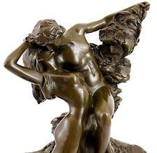 """Meisterhafte Bronzefigur - """"Der ewige Frühling"""" (1884) - signiert Auguste Rodin"""