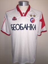 Kappa Red Star Belgrade 1997 Away Football Shirt Soccer Jersey Size L Trikot