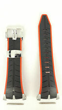 Authentic Seiko F1 Honda Racing Team Watch Strap SPC009 Black Red Band 7T82-0AF0