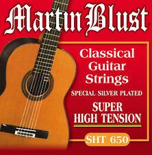 Martin Blust Gitarren Saiten für Konzertgitarre MB Classical Profi-Line SHT