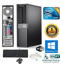 Dell OptiPlex PC COMPUTER DESKTOP 160GB Intel 3.00Ghz 4GB WINDOWS 10 PRO 64BIT