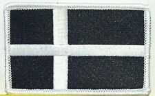DENMARK Flag Patch With VELCRO® Brand Fastenern Military Emblem #1
