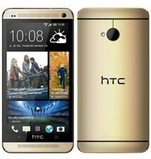 HTC One M7 Phone LTE BoomSound Android Quad Core 32GB UltraPixel Unlocked Gold