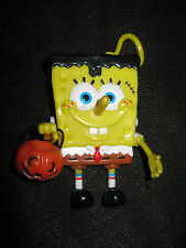 2009 Spongebob Squarepants Hallowen Candy Dispenser with Plastic Keychain