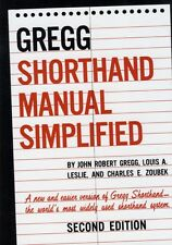 The GREGG Shorthand Manual Simplified (Hardcover), 9780070245488, Gregg, J.R., .