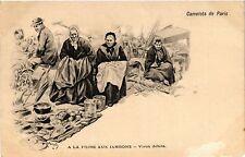 CPA Camelots de PARIS a la Foire aux Jambons - Vieux débris (215519)