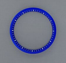 Brand New SEIKO 7002 Chapter Ring (minute track- mod parts) - BLUE