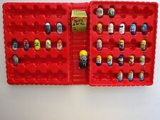 Mighty Beanz Series 2 Red Collector Storage Case w/ 27 Beanz Pokemon