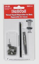 New!! HELICOIL Thread Repair Kit 1/4 -20 x.375 New 12 Inserts w/ Tap Heli 5521-4
