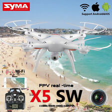 Syma X5SW DRONE 2.4G 4CH 6Axis Gyro RC Quadcopter Wifi FPV HD 0.3MP Caméra RTF