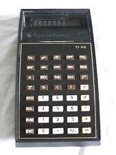 TEXAS INSTRUMENTS TI-45 TASCHENRECHNER CALCULATOR T 45   (175)
