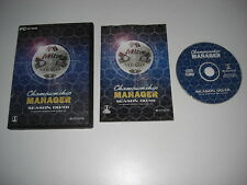 CHAMPIONSHIP MANAGER SEASON 00/01 Season Pc Cd Rom CM 00 / 01 Football FAST POST