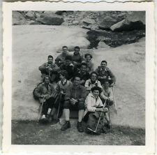 PHOTO ANCIENNE - VINTAGE SNAPSHOT - MONTAGNE ALPINISME ESCALADE - CLIMBING 1