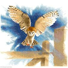 Heritage John Clayton Counted Cross Stitch Chart  ~ OWL IN FLIGHT Sale #483