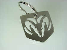 Stainless steel Dodge Ram Keychain, Key Chain, Lanyard, Made in USA!