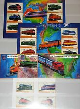 GUINEA 2001 3129-44 Block 653-55 1919-27 Locomotives Lokomotiven Trains Züge MNH