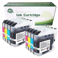 8 Ink Inkjet For LC103 XL 2Set for Brother MFC-J285D J470DW MFC-J475DW Printer
