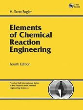 New-Elements of Chemical Reaction Engineering H. Scott Fogler 4 ed INTL ED