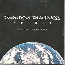 SOUNDS OF BLACKNESS w/ CRAIG MACK Spirit w/ EDIT & REMIX USA CD single SEALED