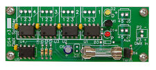 DMX Splitter 1x4 TVS Isolated Input PCB for DMX-512
