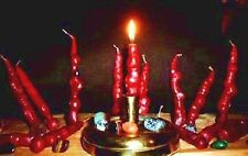 5 Ugly but Awesome gemstone candles Fun Wiccan Pagan Ritual Christian sca