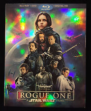 Rogue One: A Star Wars Story (Blu-ray + DVD + Digital HD) NEW With Slip Cover