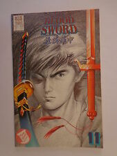 The Blood Sword MA Wing Shing M Baron T Wong #11 Jademan Comics July 1989 NM