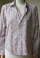 FRANK AND EILEEN BARRY FLORAL-PRINT BLOUSE SMALL