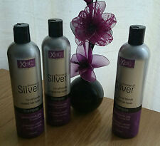 Xpel Hair Care Shimmer of Silver Shampoo 400ml X3 Bottles Same day Posting