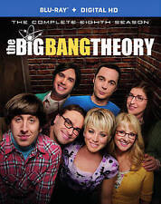 The Big Bang Theory: The Complete Eighth Season 8 (Blu-ray Disc, 2015) Brand New
