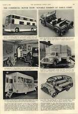 1952 Mobile Butchers Mobile Garage Bedford Dormobile