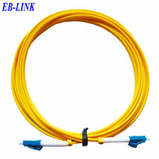 5M LC to LC 9/125 Simplex SingleMode SM Fiber Optic Cable Patch Cord Jumper