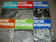 CURRENT ARCHAEOLOGY MAGAZINES ISSUES 52-56 & 78
