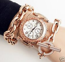 Original Guess Collection gc x43010m1s reloj fantastico cuero color: Rose oro! nuevo!
