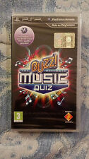 BUZZ! THE ULTIMATE MUSIC QUIZ  PSP  Nuovo e Sigillato ITALIANO