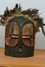 Amazing African  bembe Mask  from (D R C) Congo.