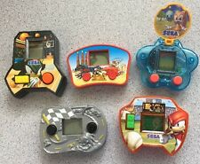 5 Vintage McDonalds Hand Held Video Games SEGA Sonic Happy Meal Racing