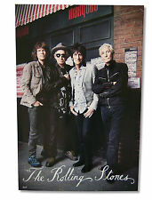 THE ROLLING STONES - 50TH ANNIVERSARY MARQUEE CLUB GLOSSY WALL POSTER 24X36 NEW